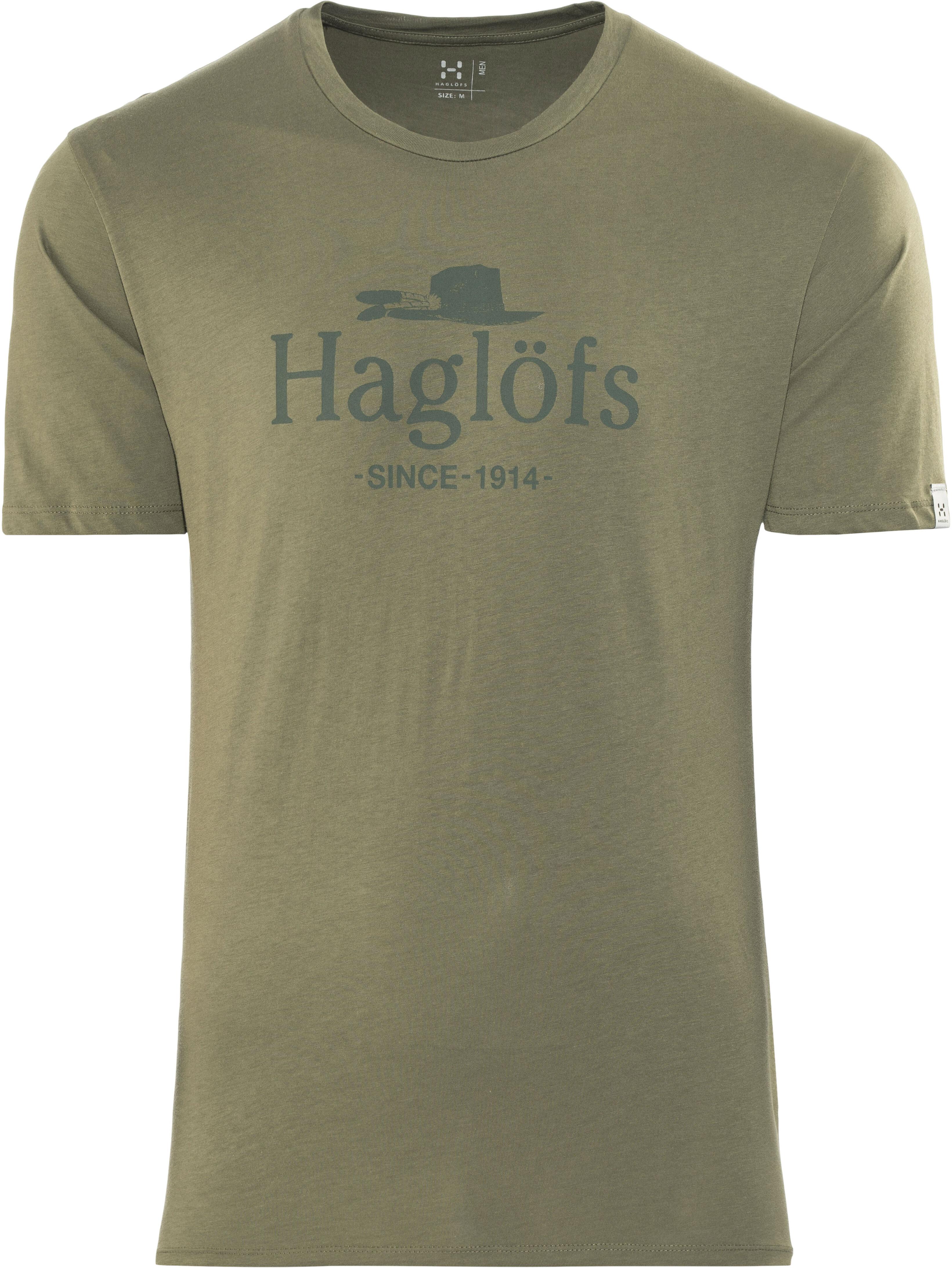 06f3410695a3f Haglöfs Camp Bluzka z krótkim rękawem Mężczyźni beżowy   Sklep ...